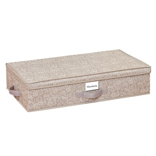 Space Saver Fern Pattern Slim Handy Underbed Storage Box