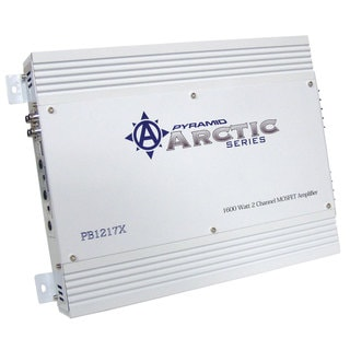 Pyramid PB1217X 1600 Watt 2 Channel Bridgeable MOSFET Amplifier (Refurbished)