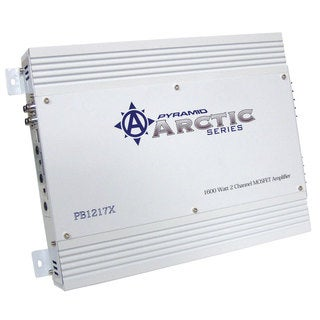 Pyramid PB1217X 1600 Watt 2 Channel Bridgeable MOSFET Amplifier (Refurbished)