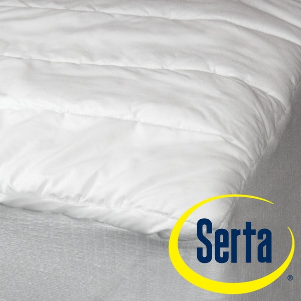 Serta Perfect Sleeper Cotton Quilted Mattress Pad