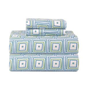 Celeste Home Matrix Ultra Soft Flannel Sheet Set