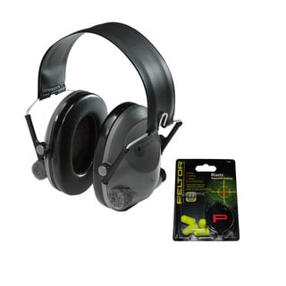 Peltor Tactical 6S Electronic Hearing Protector with Free Blasts