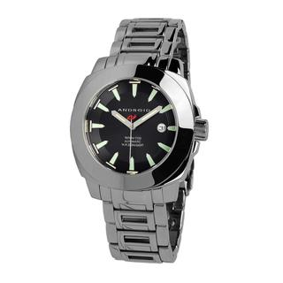 Android Men's 'Parma T-100 Automatic' Black Dial Watch
