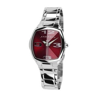 Android Women's 'Prism Tonneau Edition' Red Dial Watch