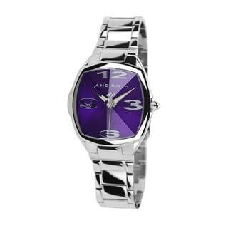 Android Women's 'Prism Tonneau Edition' Purple Dial Watch