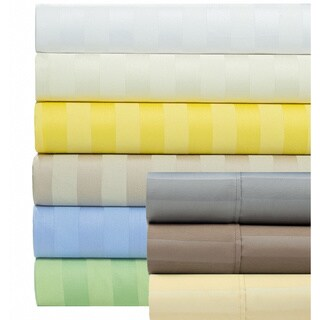 1000 Thread Count Cotton Blend Striped Easy Care Sheet Set with Bonus Pillowcases (6-piece Set)