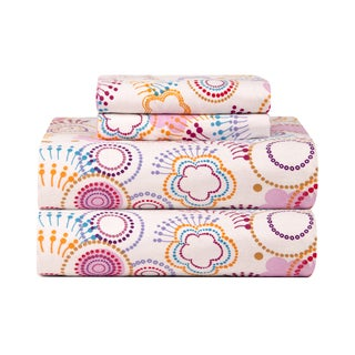 Celeste Home Poppi Ultra Soft Flannel Sheet Set
