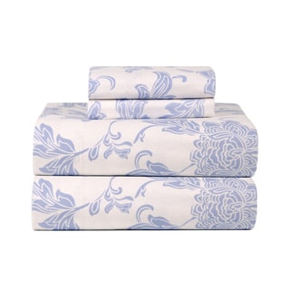 Celeste Home Corsage Ultra Soft Flannel Sheet Set