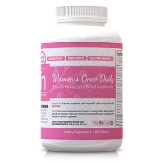 Trusted Nutrients Women's Once Daily Complete Vitamin (180 Tablets)