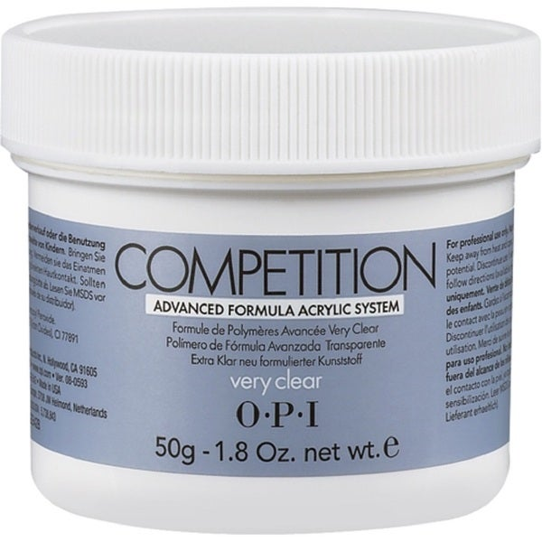 OPI 1.8-ounce Very Clear Powder Competition