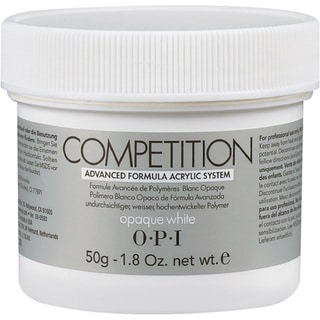 OPI 1.8-ounce Opaque White Powder Competition
