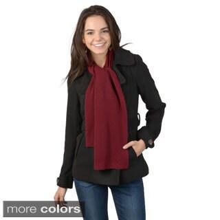 Portolano Soft Women's Solid-Color Cashmere Scarf