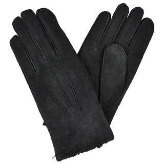 Portolano Men's Solid Color Leather Gloves