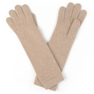 Portolano Women's Long Cashmere Gloves