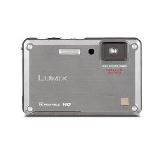 Panasonic Lumix DMC-TS1 Waterproof 12.1MP Silver Digital Camera (Manufacturer Refurbished)