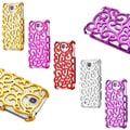 Gearonic Luxury Chrome Hollow PC Hard Back Case Cover for Samsung Galaxy S4 i9500