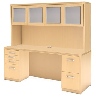 Mayline Aberdeen Laminate Rectangular Desk