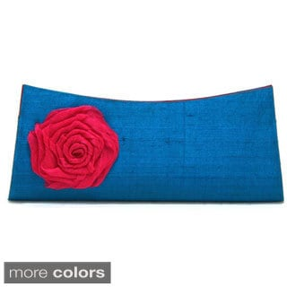 Twisted Flower Clutch Bag (India)