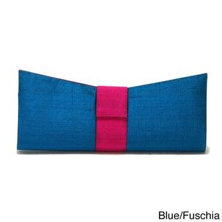 Sitara Bow Clutch Bag (India)
