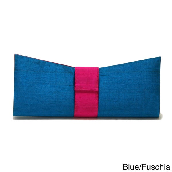 Sitara Bow Clutch Bag (India)