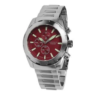 Android Men's 'Tribeca Chrono' Red Dial Watch