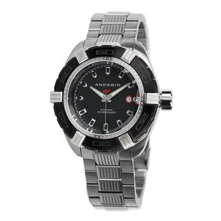 Android Men's 'Stratus Automatic' Black Dial Watch
