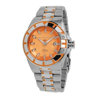 Android Men's 'Biluminescence NH35 Automatic' Orange Dial Watch