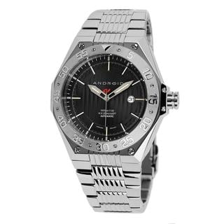 Android Men's 'Enterprise T-100 Automatic' Black Dial Watch