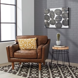 Beatnik Oxford Tan Leather Chair