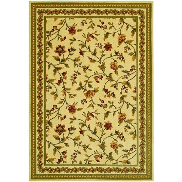 "Royal Luxury Winslow/Linen-Beige Rug (4'7"" x 6'6"")"