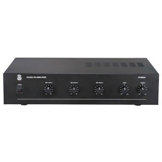 PyleHome PCM60A 100 Watt Power Amplifier w/ 25 & 70 Volt Output (Refurbished)