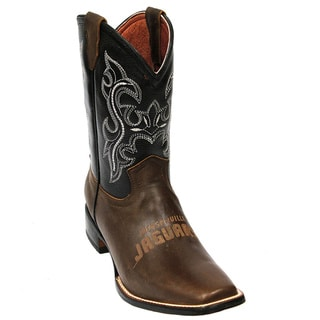 Kids Jacksonville Jaugars Western Leather Boots