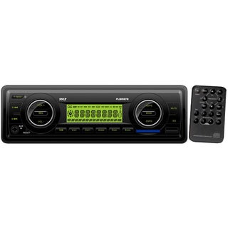 Pyle PLMR87WB AM/FM-MPX IN-Dash Marine MP3 Player/Weatherband/USB & SD Card Function (Refurbished)