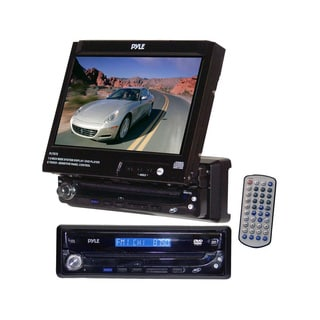 "Pyle PLTS75 7"" Motorized Touchscreen Receiver w/ DVD/CD AM/FM (Refurbished)"