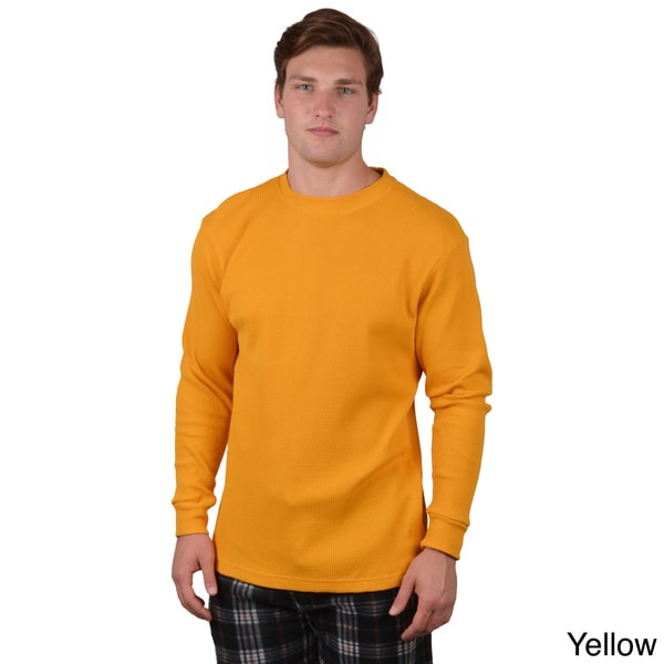 Boston Traveler Men's Long Sleeve Crew Neck Shirt
