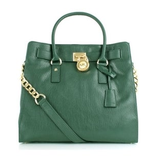 Michael Kors Malachite Hamilton North/South Saffiano Satchel