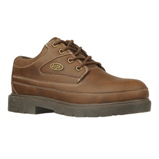 Lugz Men's 'Mission SR' Brown Slip Resistant Work Shoes
