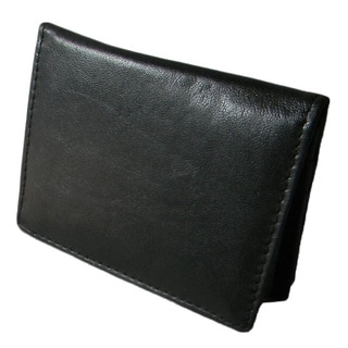 Hollywood Tag Lambskin Leather Inside ID Card Case