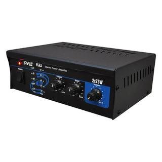 PyleHome PCA3 2 x 75 Watt Power Stereo Power Amplifier (Refurbished)