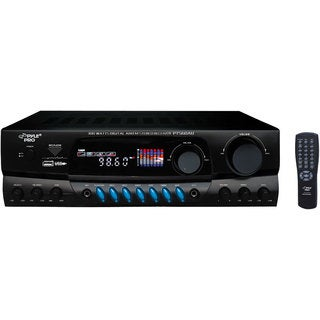 PylePro PT560AU 300 Watts Digital AM/FM/USB Stereo Receiver (Refurbished)