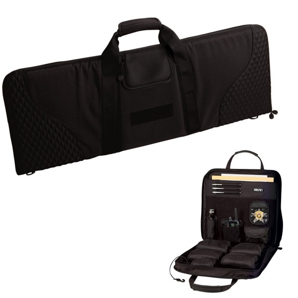 Uncle Mikes Discreet Firearm Case with free Deluxe Seat Organizer