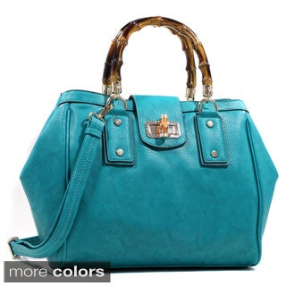 Dasein Classic Twist Lock Closure Satchel