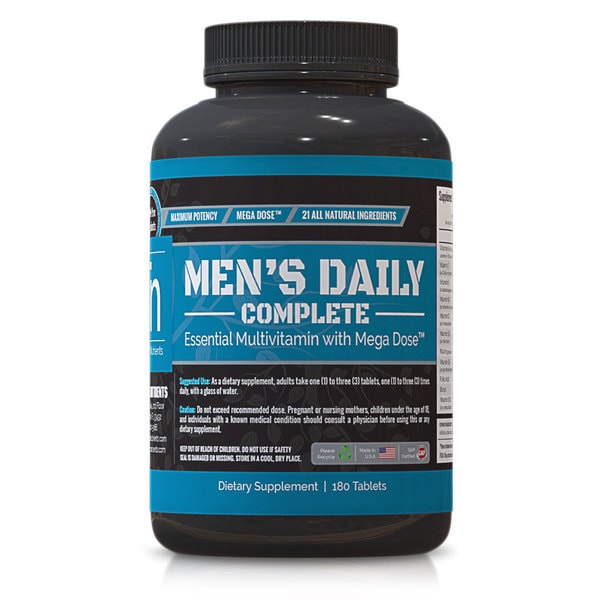 Trusted Nutrients Men's Complete Multivitamin (180 Tablets)