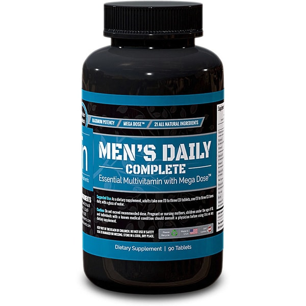 Trusted Nutrients Men's Complete Multivitamin (90 Tablets)