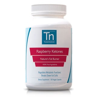 Trusted Nutrients 100-percent Pure Raspberry Ketones (60 Capsules)