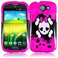 BasAcc Pink Skull Case for Samsung Galaxy Express i437