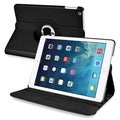 BasAcc Black 360-degree Swivel Stand Leather Case for Apple iPad Air