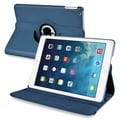 BasAcc Navy Blue 360-degree Swivel Leather Case for Apple� iPad Air