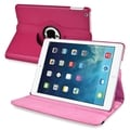 BasAcc Hot Pink 360-degree Swivel Leather Case for Apple� iPad Air