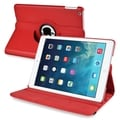 BasAcc Red 360-degree Swivel Stand Leather Case for Apple� iPad Air